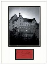 Pat Reid Autograph Signed Display - Colditz